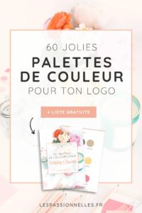 60 palettes de couleurs pour le logo de ton agence de Wedding Planner