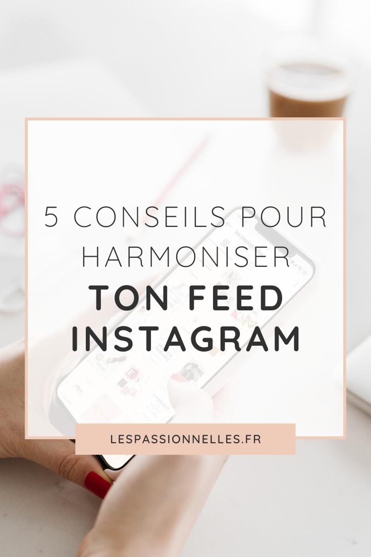 5 secrets pour harmoniser ton feed Instagram