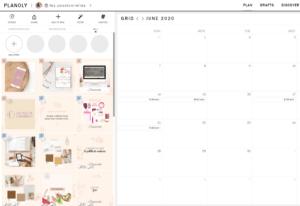 Planifier et programmer facilement ses posts et publications Instagram sur Planoly