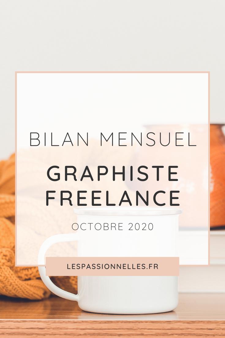 Bilan business en graphiste freelance : mois de Octobre 2020