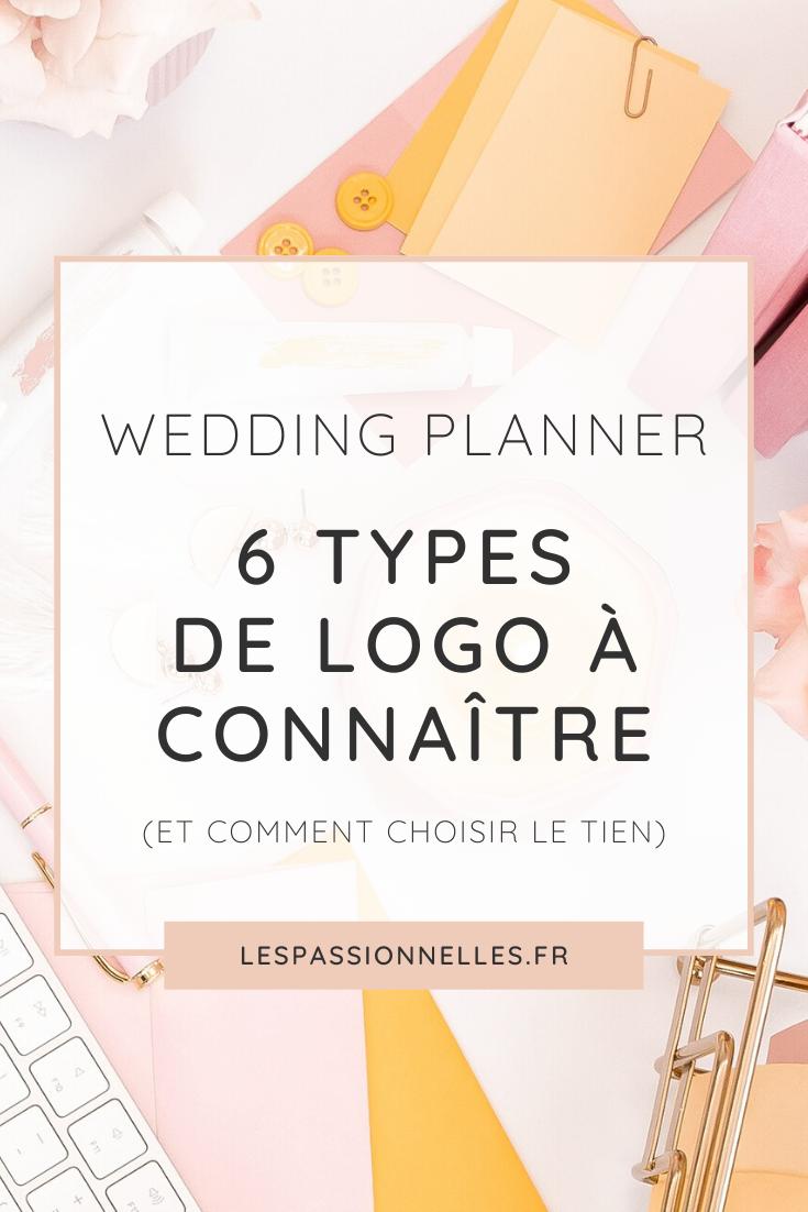 Quel style de logo choisir pour son activité de Wedding Planner ?